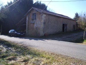 Unconverted barns near Perigueux,  Dordogne