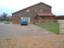 Barn conversion with outbuilding and land ideal equestrian property in Wisbech, Cambridgeshire