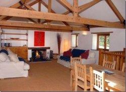 Four bedroom barn conversion on eight acres of land in Burrington, near Umberleigh, Devon