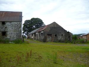 Unconverted barn for sale with planning Pontypridd, South Wales