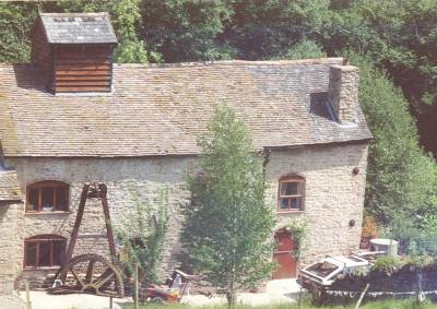 Partly Converted Water Mill Cleobury Mortimer Worcestershire