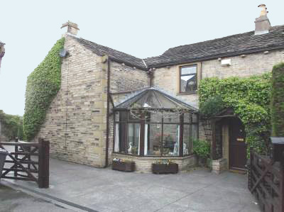 Barn conversion with smallholding for sale near Huddersfield, Yorkshire