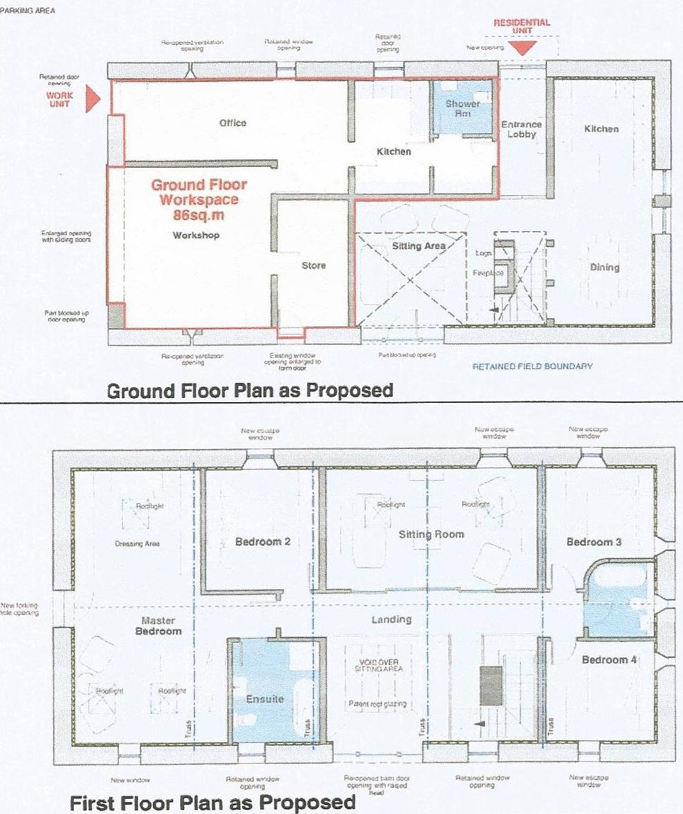 Barn Conversion Floor Plans Carnforth Lancashire