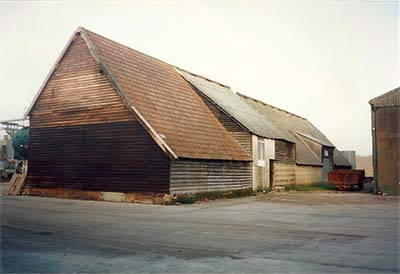 Barn In Hampshire To Be Dismantled And Removed From Present Site