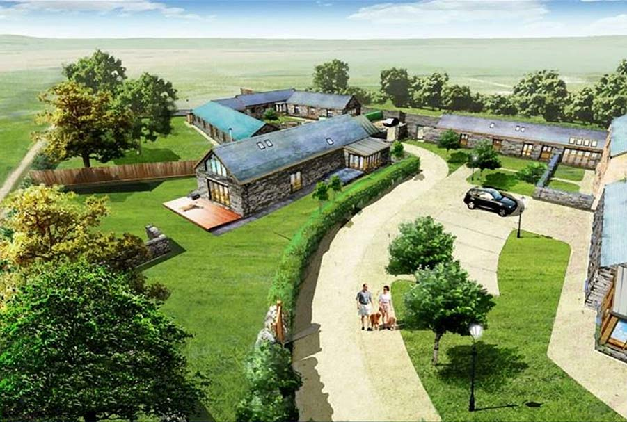 Farmhouse With Barns For Conversion In Pembrokeshire