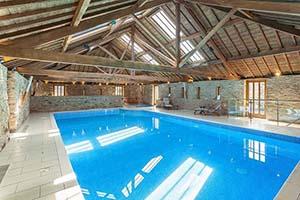 Contemporary Barn Conversion With Swimming Pool In Devon