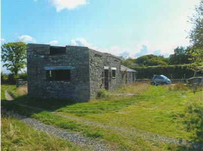 Longhouse In the Gower Peninsula