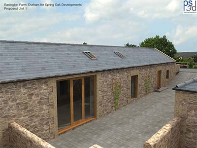 Barn conversion near Bamburgh