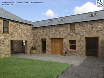 Barn conversions for sale in Warkworth, near Bamburgh, Northumberland
