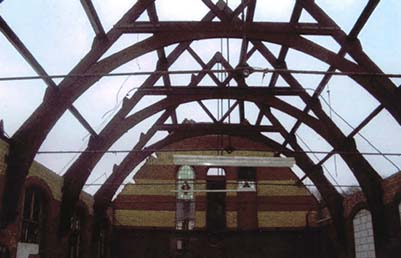 Dismantled church frame for sale currently in Hampshire