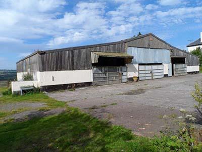 Unconverted barn in North Devon