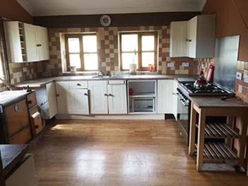 Three bedroom barn conversion for sale near Llanymynech, Powys