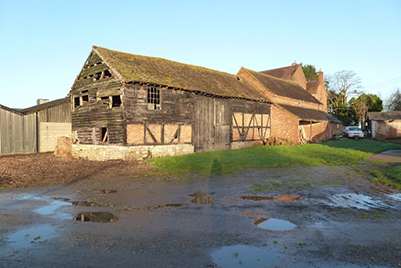 Unconverted Barns With Planning Permission For Conversion Worcester