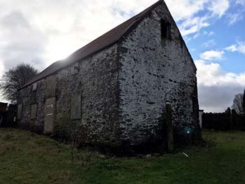 Unconverted barn with planning permission Coedpenmaen, Pontypridd, South Wales