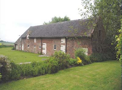Biddulph Barn For Conversion