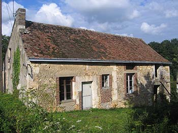Unrenovated Farmhouse In Loire Valley For Sale