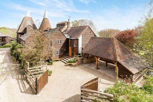 Converted Oasthouse For Sale Blenchley Kent
