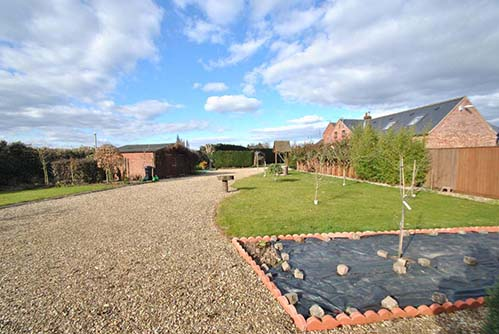 Period farmhouse with large gardens in Sutterton, Lincolnshire