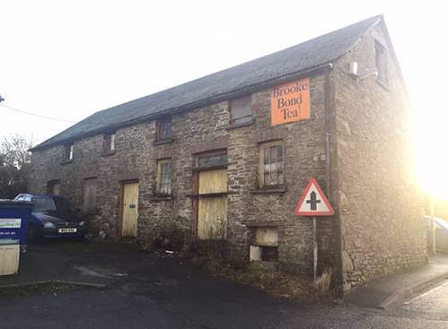Unconverted barn for sale in Llanllwni, Carmarthenshire