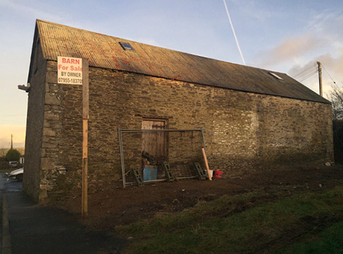 Barn For Conversion Llanllwni South Wales