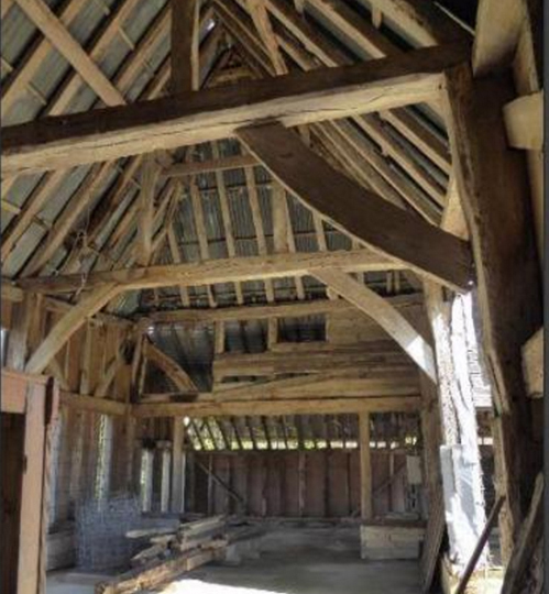Partly Converted Barn  Newick Sussex