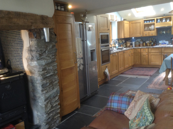 Country House With Unconverted Barn Llanfechain Montgomeryshire