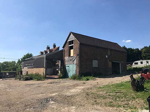 Barn And Outbuilding For Conversion Yalding Maidstone