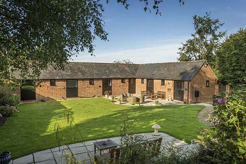 Converted Barn With Planning Permission In Gloucestershire
