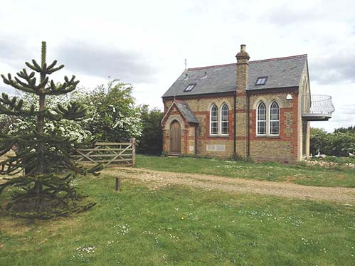 Partly Converted Methodist Chapel For Sale Near Wisbech Cambridgeshire
