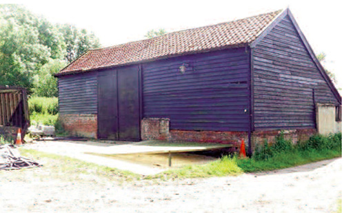 Unconverted Barn Near Ipswich Suffolk