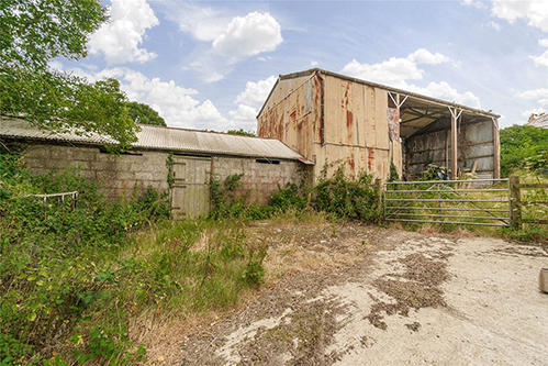 Unconverted Barn Near Saltash Cornwall