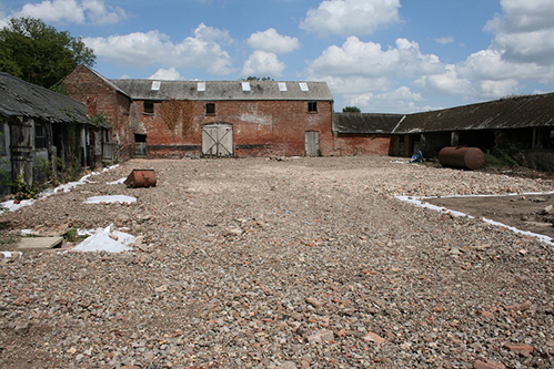 Range of barns with permission for conversion, Crowland, South Lincolnshire