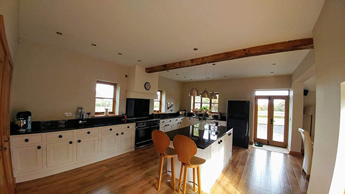 Hinckley Barn Conversion With Open Plan Layout