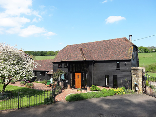 Converted Barn With Granny Annexe For Sale Near Maidstone Kent