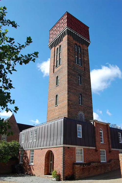 A Converted Water Tower for sale In Melton, Suffolk