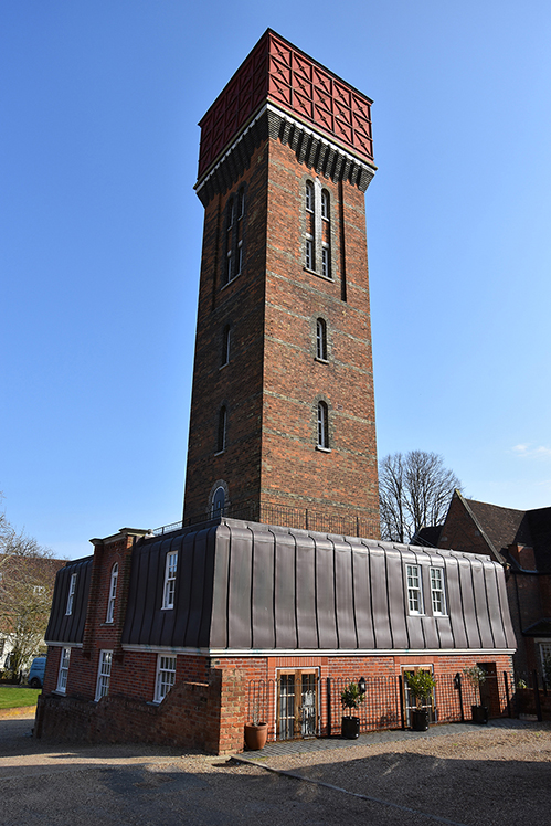 Water Tower Conversion With Character