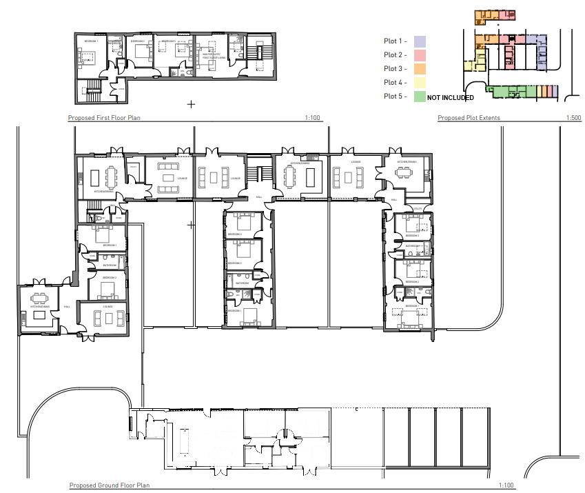 Floorplan of Unconverted barns for sale near Wellington, Shropshire