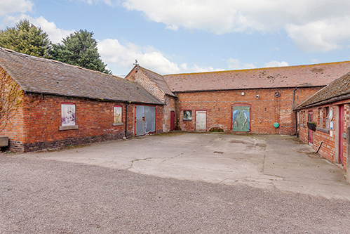 Development opportunity of a range of barns near Ellerdine, Shropshire