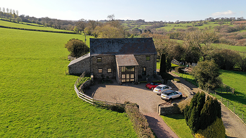 Barn Conversion With Land Crickhowell Abergavenny, Powys