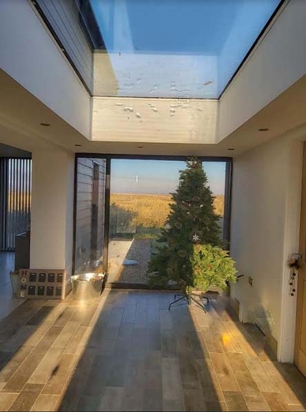 Four bedroom barn conversion for sale in the Cambridgeshire village of Gorefield, near Wisbech