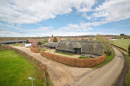 Unconverted Barn In Kent For Sale