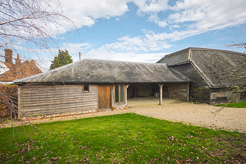 Stalisfield  Unconverted Barn With Planning Permission