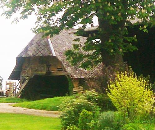 Barn frame for sale, Normandy, France