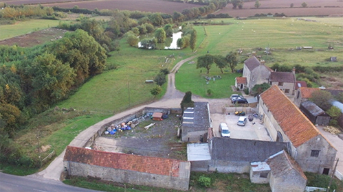 Unconverted barns for sale with permission for conversion in Great Addington, Northamptonshire