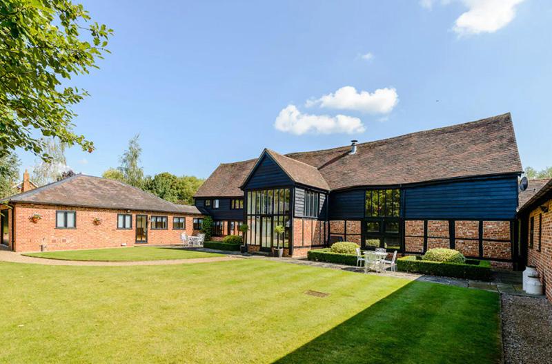 Grade II listed barn conversion near Shottesbrooke, White Waltham and Maidenhead