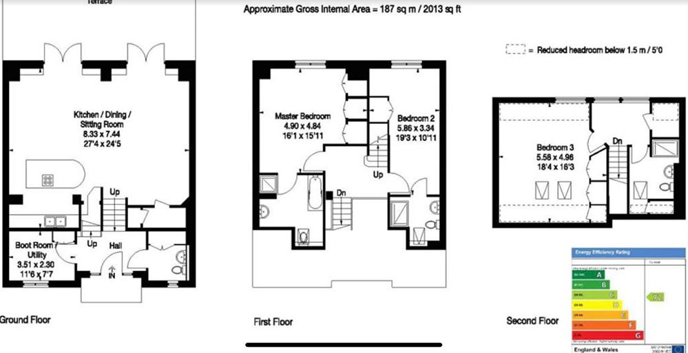 Floorplan of Barn conversion for sale near Petersfield, Hampshire