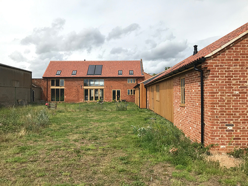 Norfolk Partly Completed Barn Conversion Swaffham