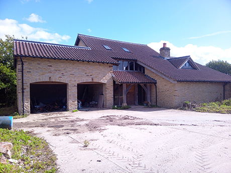 Almondsbury Barn For Conversion For Sale And Farmhouse