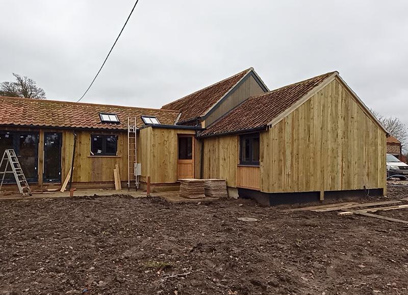 Three bedroom barn for sale in Norfolk village of North Elmham, near Dereham