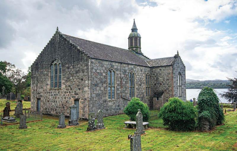 Unconverted church for sale near Oban, Argyll